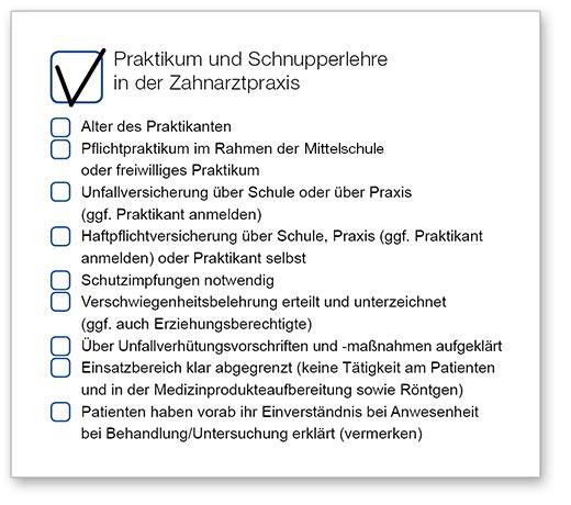 Praktikum Und Schnupperlehre In Der Zahnarztpraxis Bayerische